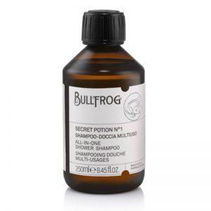 Bullfrog secret potion n.1 shampoo multifunzione 250 ml