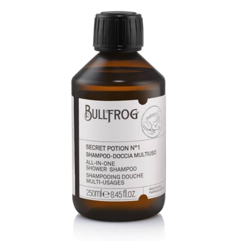 Bullfrog secret potion n.1 shampoo multifunzione 250 ml