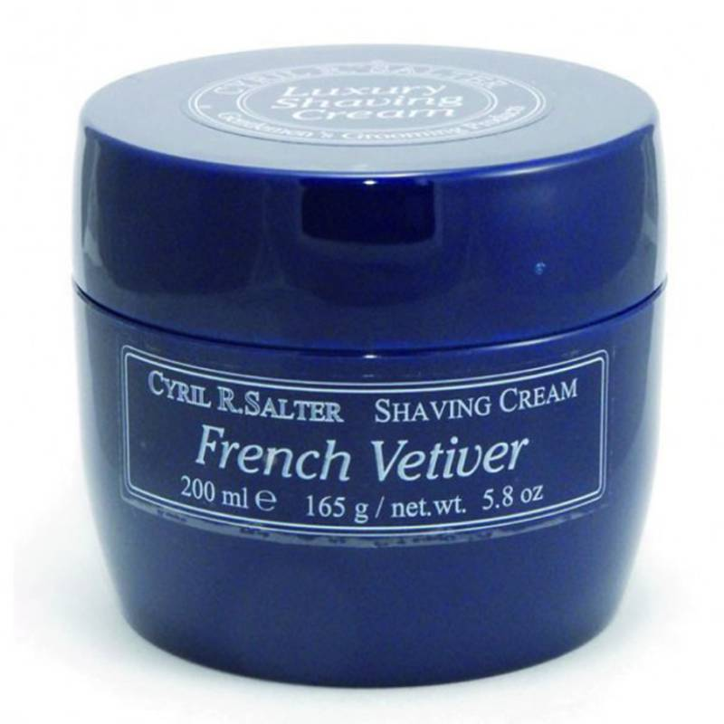 Cyril Salter French Vetiver Luxury Shaving Cream 200 ml