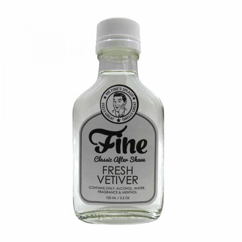 Fine Accourtsment Fresh Vetiver Aftershave dopobarba 100 ml