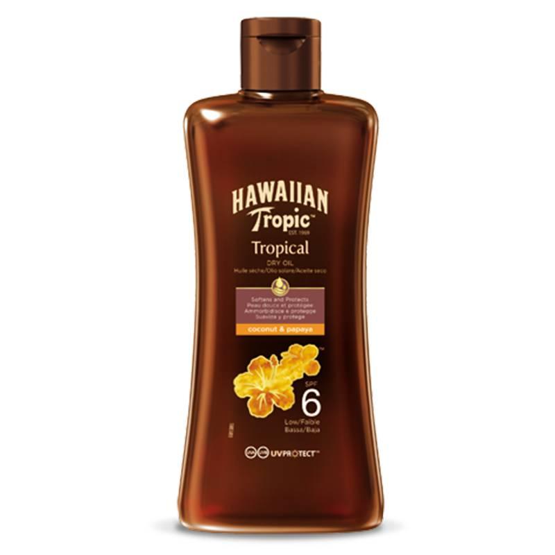 Hawaiian Tropic Olio Secco Protettivo SPF 6 200 ml