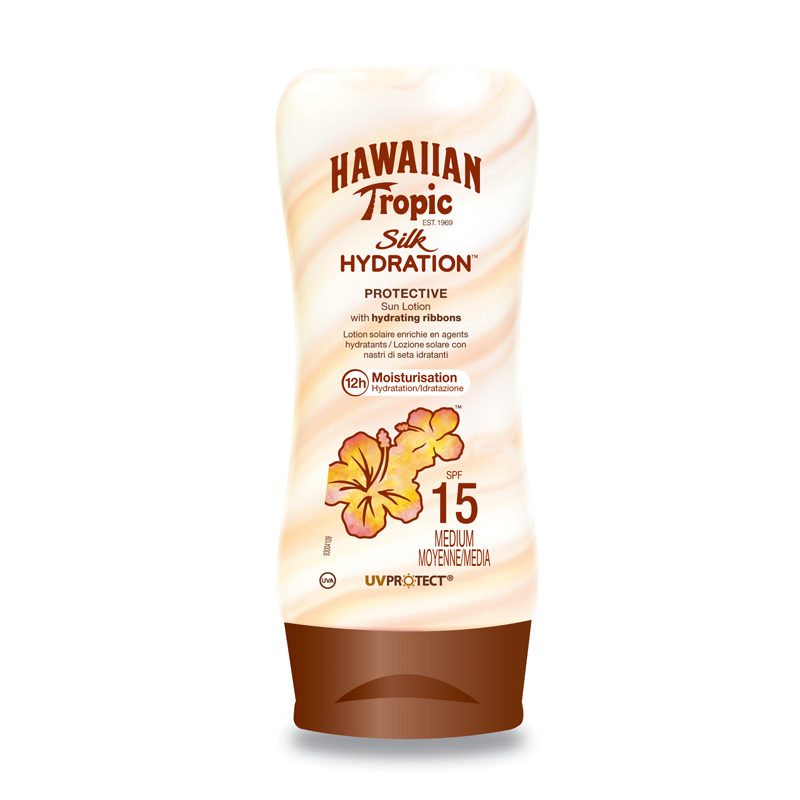 Hawaiian Tropic Silk Hydratation Lotion SPF15 180ml
