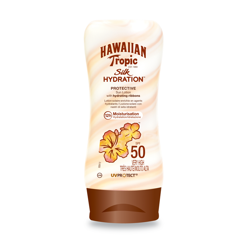 Hawaiian Tropic Silk Hydratation Lotion SPF50 180ml