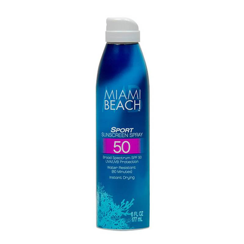 Miami Beach Sport Sunscreen Spray SPF 50 148ml protezione solare
