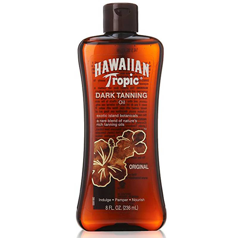 Hawaiian Tropic Olio Abbronzante Tropicale SPF0 200ml
