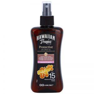 Hawaiian TropicTM Olio Secco Spray Protettivo SPF 15 200 ml