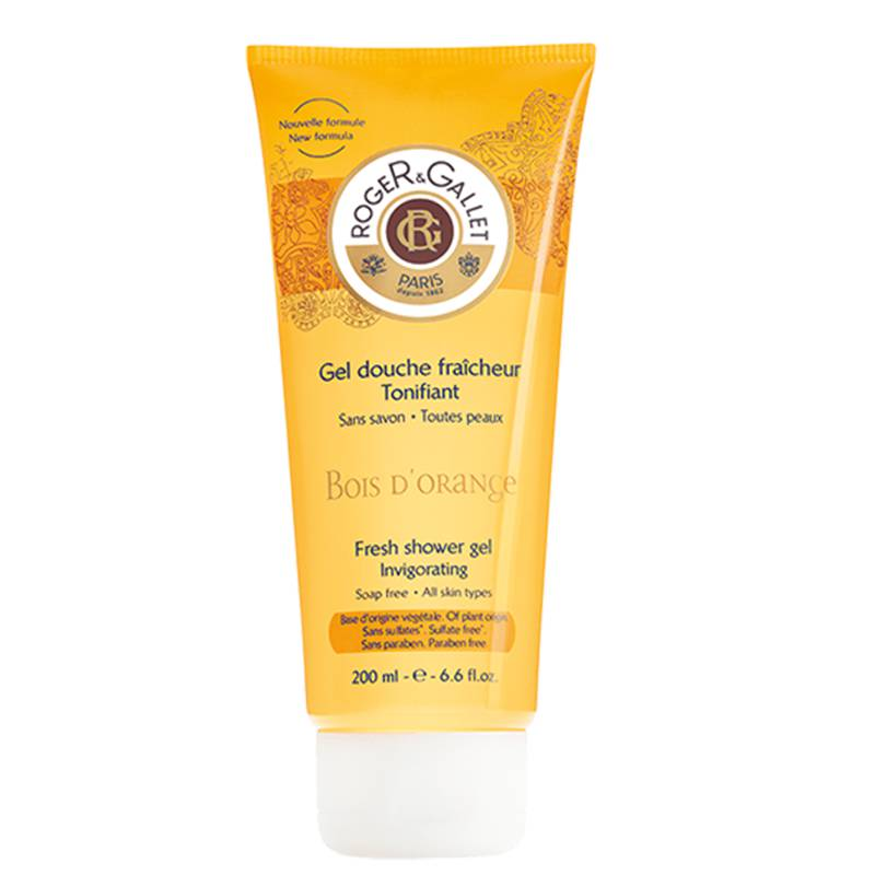 Roger Et Gallet Bois D'Orange bagno doccia gel tonificante 200 ml