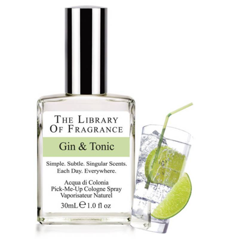 The Library of fragrance Gin and Tonic acqua di colonia 30 ml spray