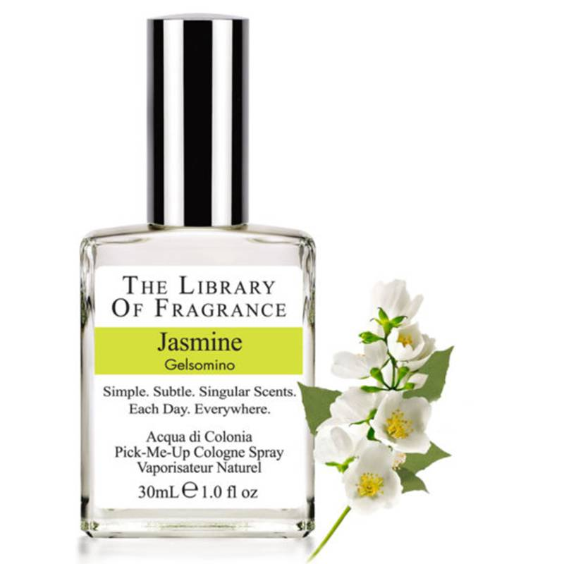 The Library of Fragrance Jasmine acqua di colonia 30 ml spray