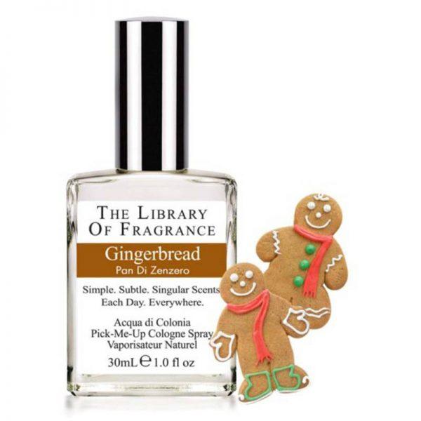 The Library of Fragrance pan di zenzero acuqa di colonia 30 ml spray