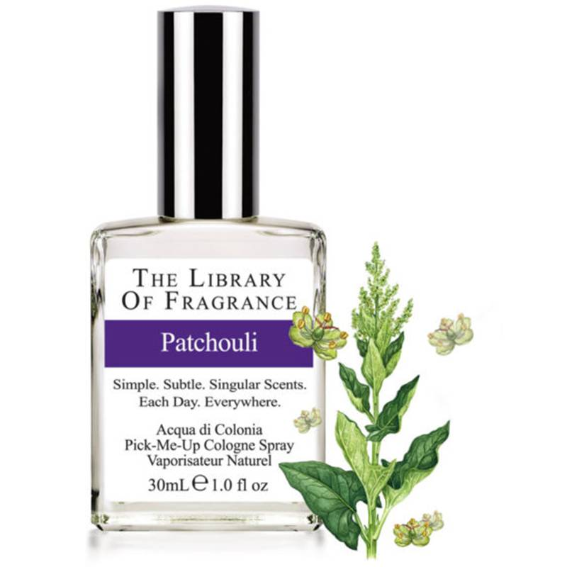 The Library of Fragrance Patchouli acqua di colonia 30 ml spray