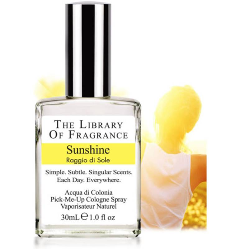 The Library of Fragrance Sunshine acqua di colonia 30 ml spray