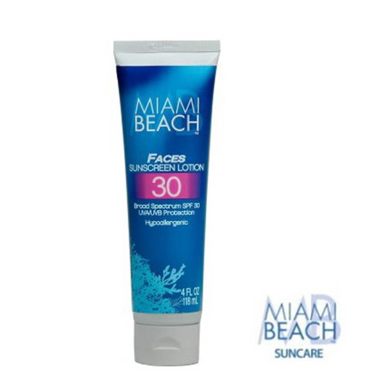 Miami Beach Faces Sunscreen Lotion SPF 30 118ml crema solare