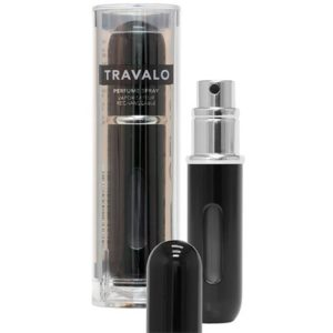 Travalo Classic HD Black porta profumo 5 ml spray da viaggio