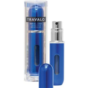 Travalo Classic HD Blue porta profumo 5 ml spray da viaggio