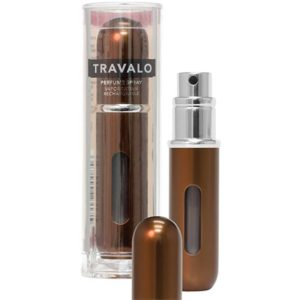 Travalo Classic HD Brown porta profumo 5 ml spray da viaggio