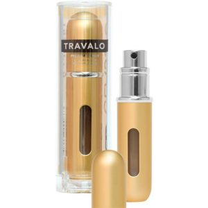 Travalo Classic HD Gold porta profumo 5 ml spray da viaggio