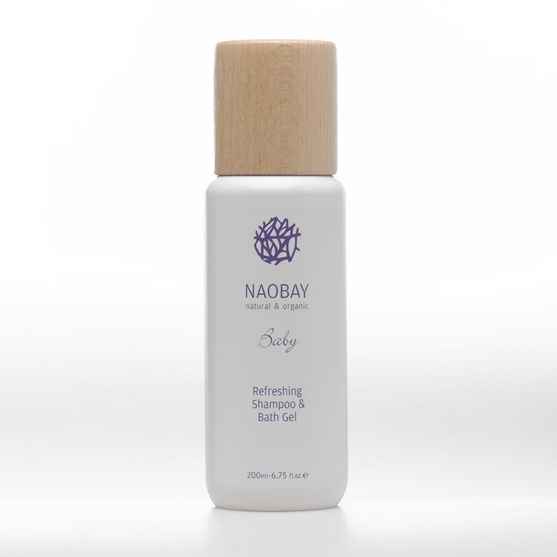 Naobay Refreshing Shampoo Bath Gel Linea Baby 200 ml
