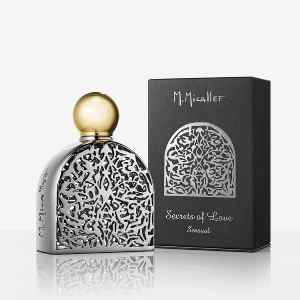 M. MICALLEF - Sensual Eau De Parfum 75 ml collezione Secret of Love. Senza tempo ed elegante. Un'unione esotica di note fruttate e gelsomino, un ingrediente leggendario e sensuale, con un finale vellutato delicatamente in equilibrato grazie al legno di sandalo. Fragranza Unisex