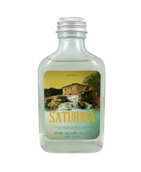 Saturnia Aftershave Splash 100ml si ispira alle celebri terme e alle loro acque curative dalle proprietà uniche al mondo per la tua pelle