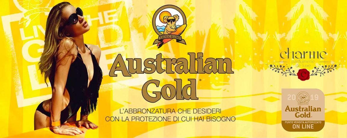 Prodotti abbronzatura Australian Gold Charme Profumeria Molfetta