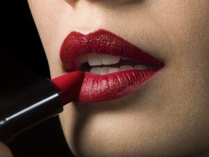 lipstick rosso