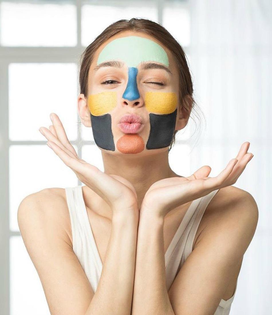 maschere per viso